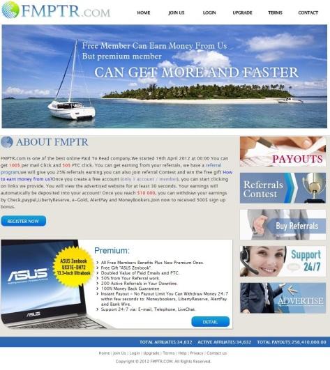 FMPTR.com - Fast Money PTR Company